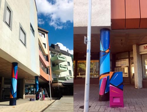 KulturGut Verein Völklingen bringt mit Graffitikunst Farbe in die Stadt